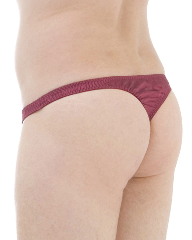 Pack of 4 Satin Silk Thong Briefs